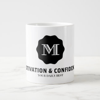 Motivation and Confidence Large Coffee Mug