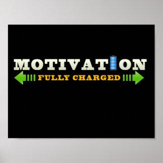 Motivation Battery Poster