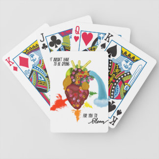 Motivation for All Seasons Bicycle Playing Cards