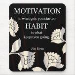 Motivation Messages On Mousepad