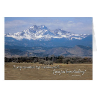 Motivation Mountain Card