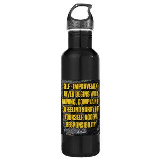 Motivation - Self-Improvement - Inspirational 710 Ml Water Bottle