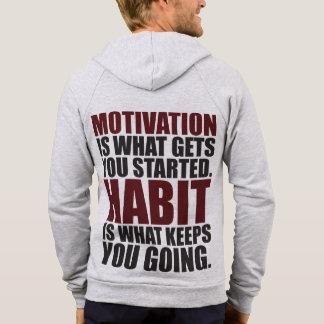 Motivation vs Habit Hoodie