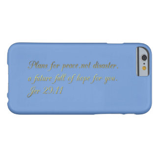 Motivational and inspirational barely there iPhone 6 case
