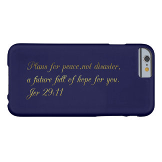 Motivational and inspirational biblical quotes barely there iPhone 6 case