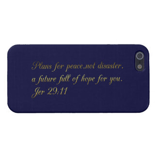 Motivational and inspirational biblical quotes case for iPhone 5/5S