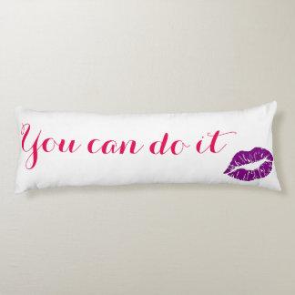 Motivational Body Pillow