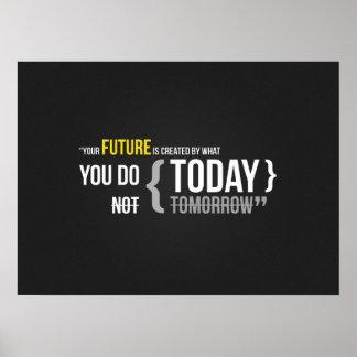 Motivational Bodybuilding Gym Poster
