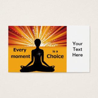 Motivational Business Card Template