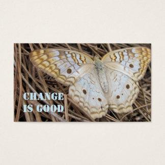 Motivational Butterfly Business Card
