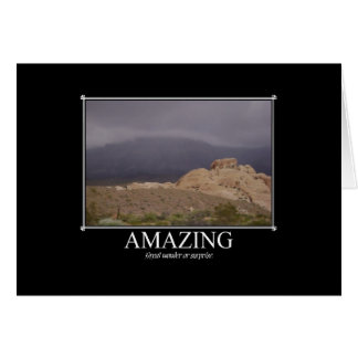 Motivational Cards: Amazing Greeting Card