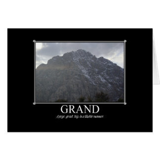 Motivational Cards: Grand Greeting Card