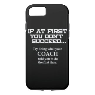 "Motivational ""Coach"" iPhone 7 CASE"