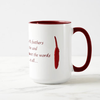 motivational cup with quote about hope