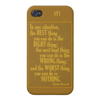 "Motivational ""Do Something"" Quote cases Covers For iPhone 4"