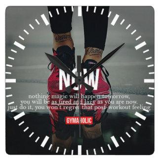 Motivational Fitness Gym Clocks
