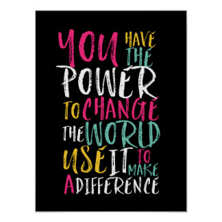 Motivational Inspirational Quote Typography Poster