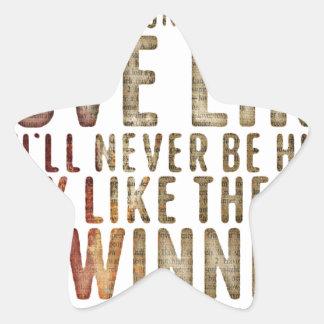 motivational inspirational star sticker