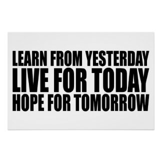 """Motivational Life Quote Poster 36"""" x 24"""""""
