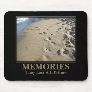Motivational: Memories Last a Lifetime Mouse Pad