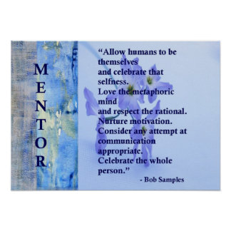 Motivational Mentor Poster