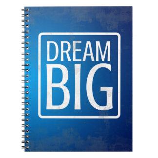 Motivational Notebook: Dream Big Notebook
