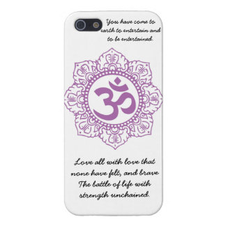 motivational om iPhone 5 cases