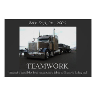 Motivational Peterbilt Poster