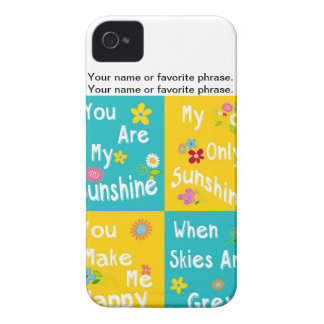 Motivational Phrases Typography - Collage iPhone 4 Case-Mate Case