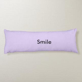 Motivational pillow body pillow