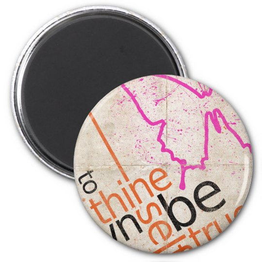 Motivational Poster 2 Inch Round Magnet