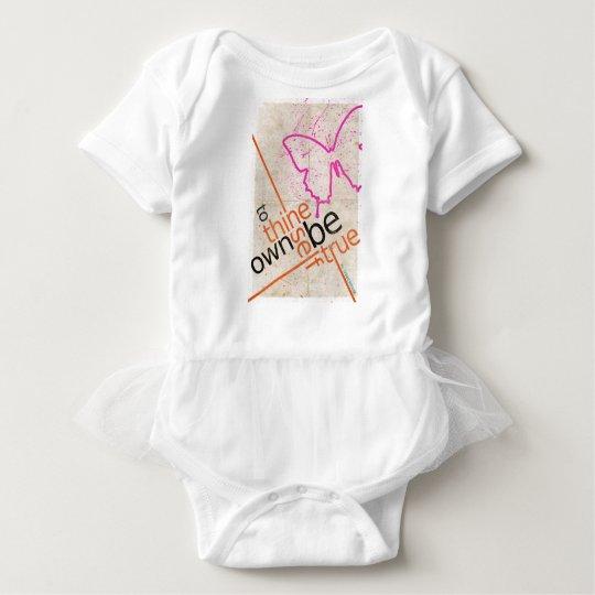 Motivational Poster Baby Bodysuit