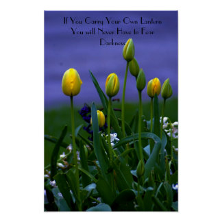 Motivational Poster-Be your own Light Poster