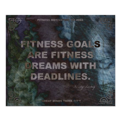 Motivational Poster for Fitness Quote #002