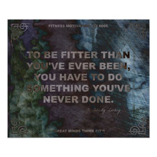 Motivational Poster for Fitness Quote #005