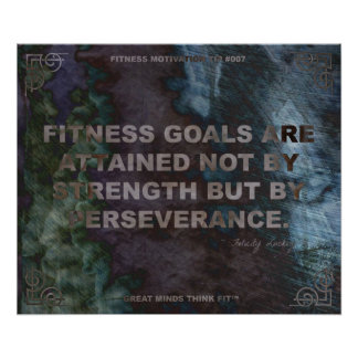 Motivational Poster for Fitness Quote 007