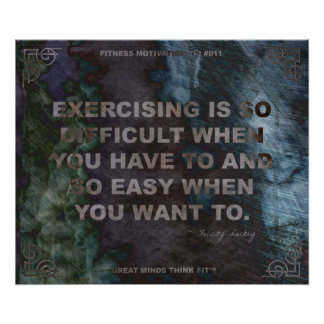 Motivational Poster for Fitness Quote 011