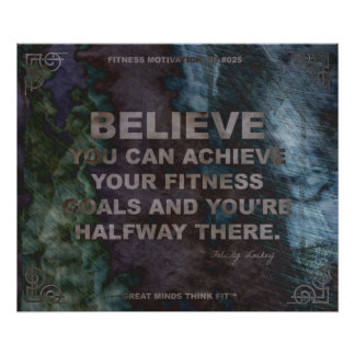Motivational Poster for Fitness Quote #025