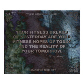 Motivational Poster for Fitness Quote 031
