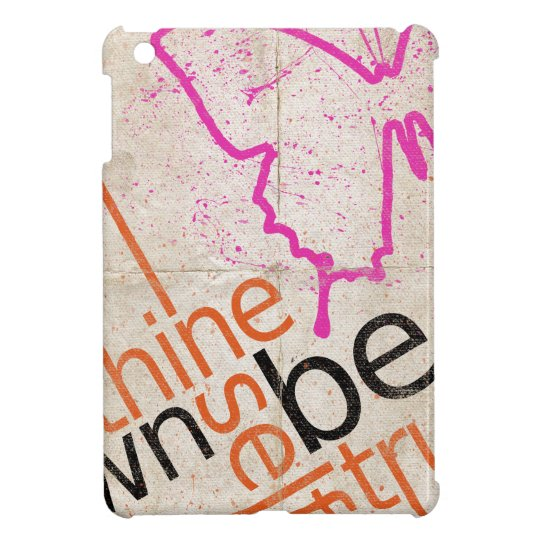 Motivational Poster iPad Mini Cover