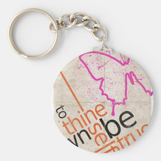 Motivational Poster Keychain