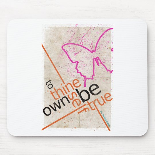 Motivational Poster Mouse Pad