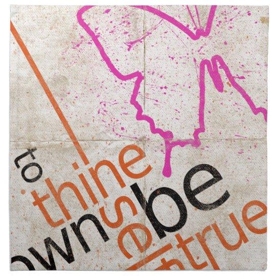 Motivational Poster Napkin