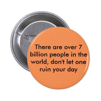 Motivational Quote 2 Inch Round Button