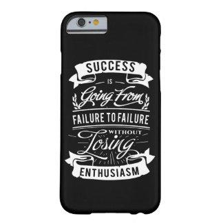 Motivational Quote about success Iphone case
