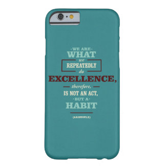 Motivational quote barely there iPhone 6 case
