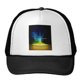 Motivational Quote Gold Trucker Hat