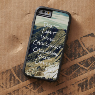 Motivational Quote iphone case Tough Xtreme iPhone 6 Case