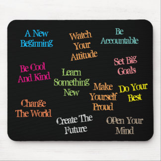 Motivational Quotes - Mouse Pad