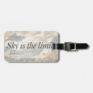 Motivational Quotes Photo Bag Tag